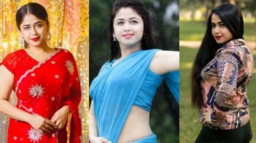 ছবিতে ফারিয়া শাহরিন...